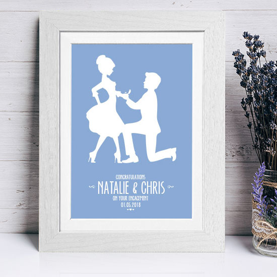 The Proposal, Personalised Engagement Gift